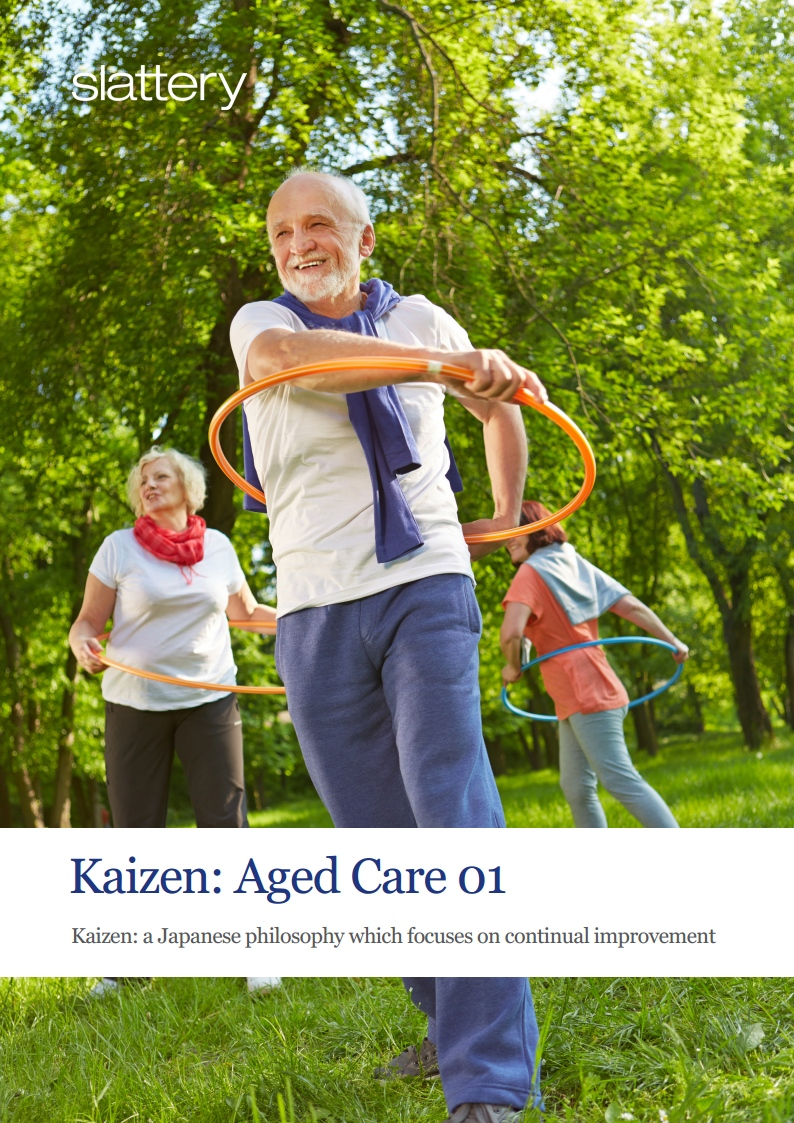 Aged care developments in Australia are no longer a one-size fits all model