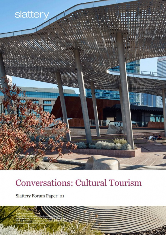Cultural Tourism: A new economic driver for Perth?