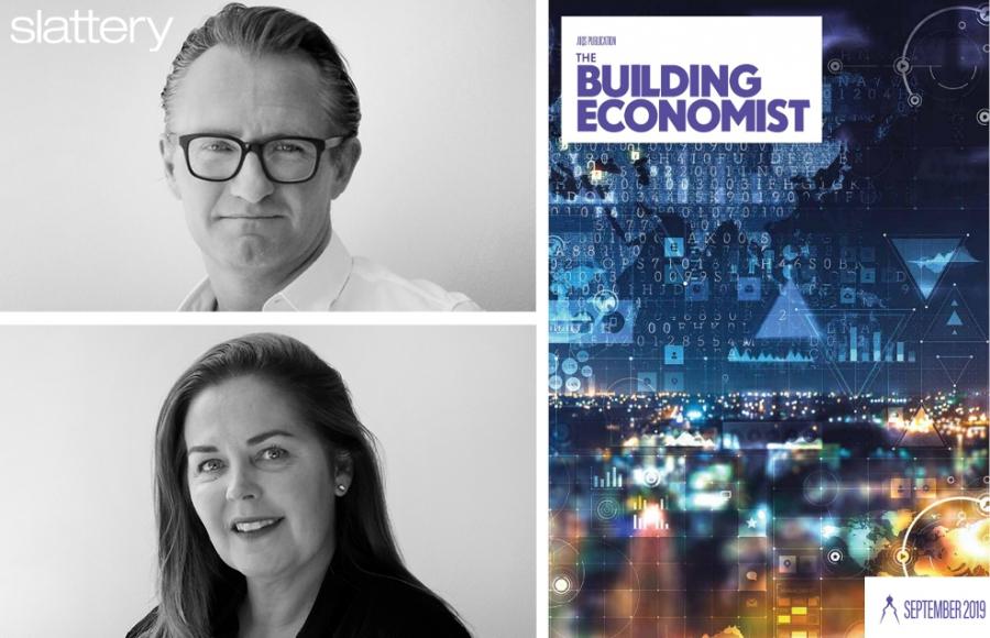 Slattery interviewed for AIQS's September 'The Building Economist'