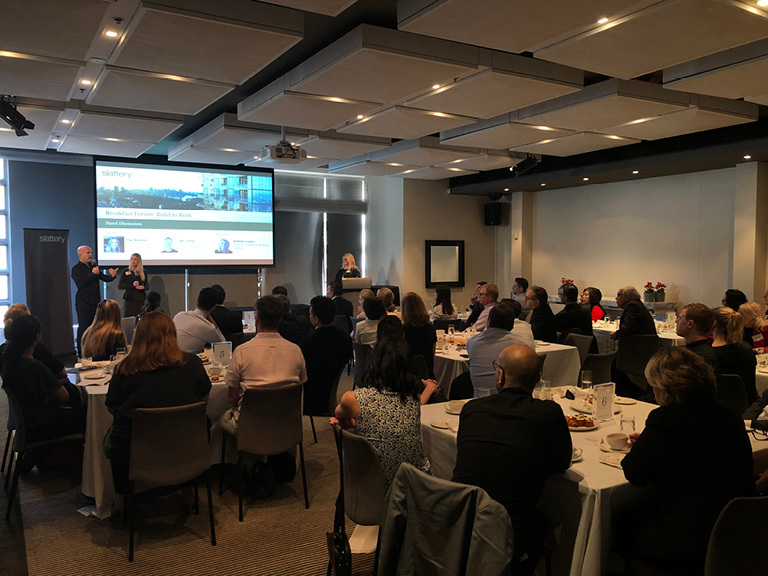 Slattery hosts Breakfast Forum: 'Build to Rent – Unravelling the Myths'