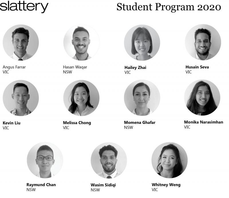 2020 Slattery Student Program