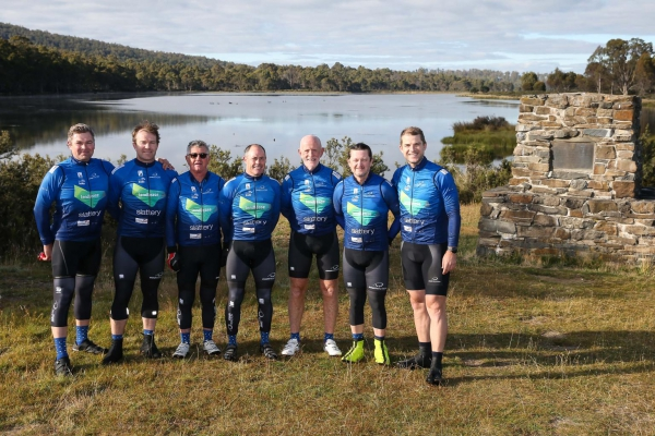 Tom Dean completes Chain Reaction Charity Bike Ride 2020