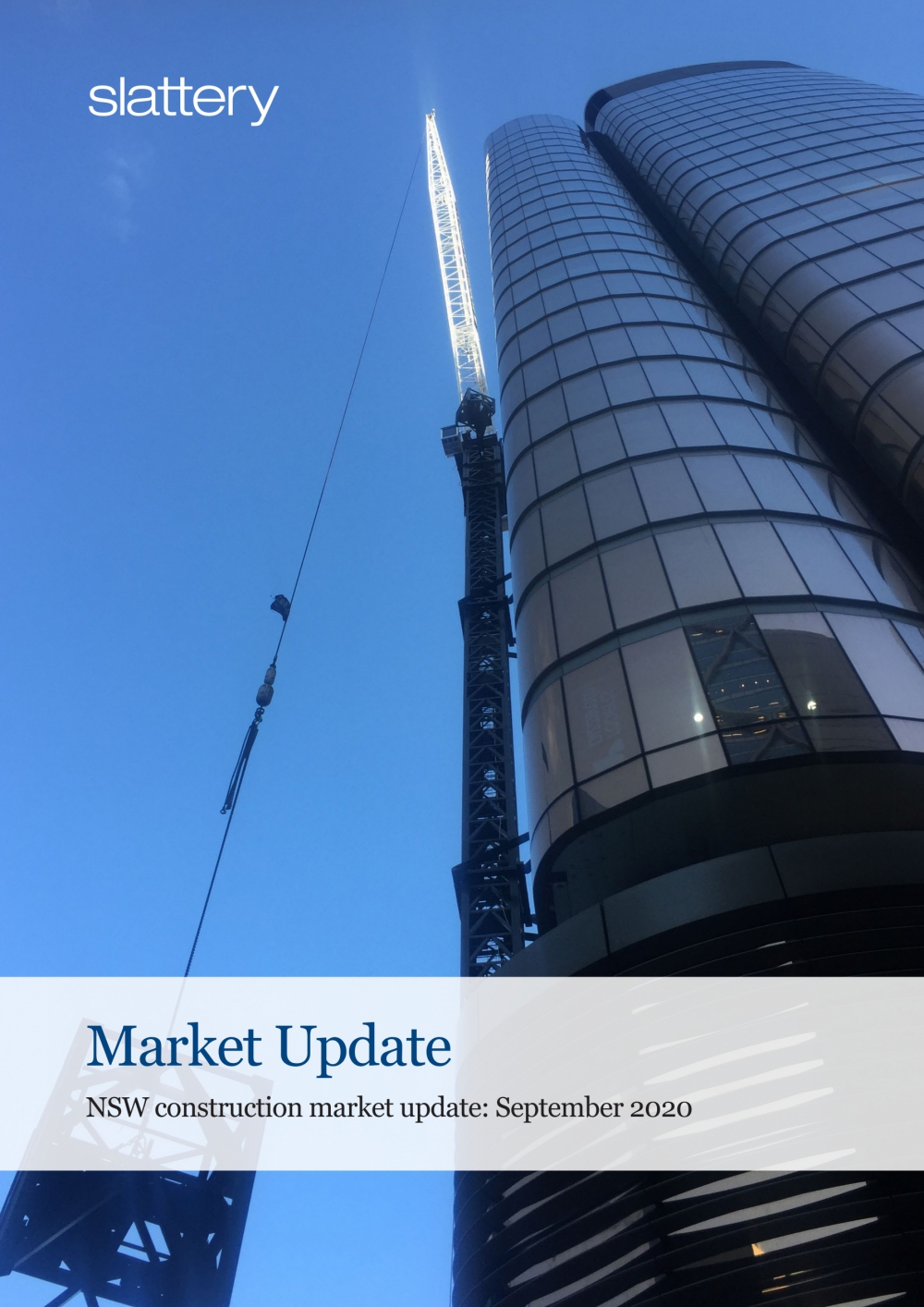 NSW construction market update: September 2020