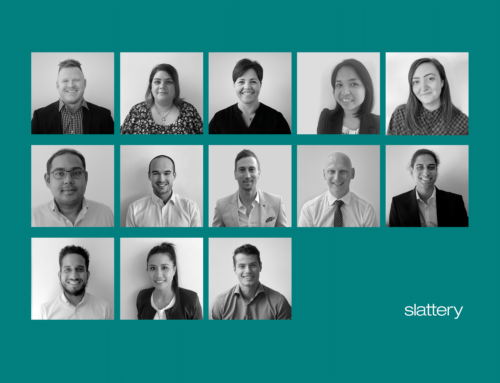 We are delighted to announce the following promotions at Slattery