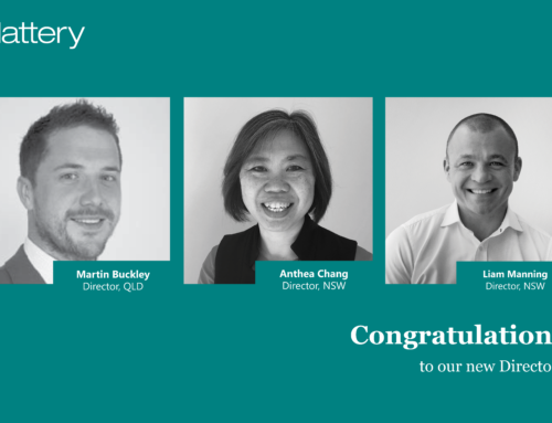 Slattery bolsters leadership team in NSW and QLD with three new Directors